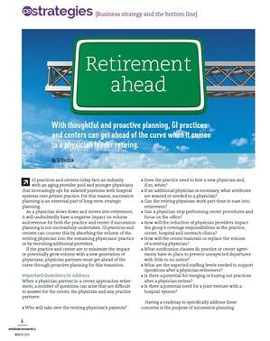 Retirement Ahead First Page